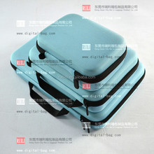 RLSOCO Light Blue shockproof eva carrying camera case ; waterproof camera bag