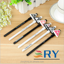 2015 new design cartoon element style promotional gel pen for office and school
