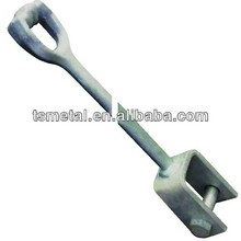 HDG welded carbon steel anchor rod extension