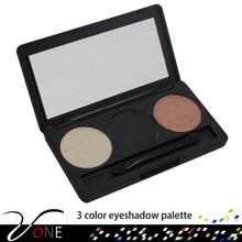 makeup 3 colors natural eye shadow/eyeshadow cosmetic,korean eye makeup