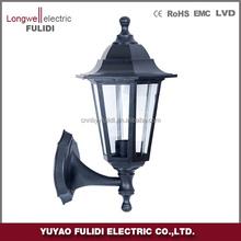 P611 classical garden light /outdoor post lantern lamp wall light energy saving lamp E27 lampholder IP44