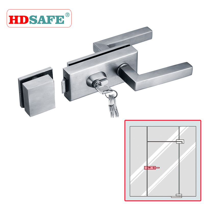 Commercial Glass Door Hardware : High quality commercial glass door locks from alibaba