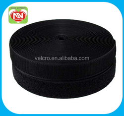 eco-friendly garment accessories soft hook and loop velcro fastener tape used for gaments and shoes