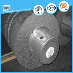 High thermal spreading regular power graphite electrode for smelting iron