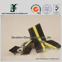 strong durablity waterproof derlin zipper PVC TPU zipper