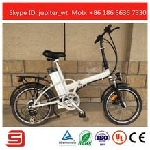 Promotional Li-ion Battery Electric Folding Bike JSE12-W