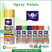 pintura en spray (pintura en aerosol)ROHS,REACH,SHS certificates