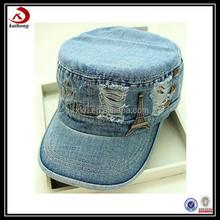 Promotional diamond lace flat hat