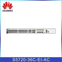 High perfomance network switch huawei S5720-36C-EI-AC 4 10GE SFP+ Ethernet optical ports switch