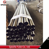 ASTM A270 Polished Sanitary stainless steel welded tube for food/Pharmaceutical/milk/beverage