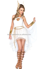 Halloween Costume For Women Fairy Greek Goddess Costumes Halloween Party Cosplay Dress Fancy Angle Wings Women's For Sexy Lady