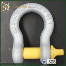 US Type Anchor Screw Pin Anchor Bow Shackle