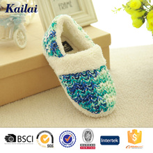 blue gradually changing color women casual shoes