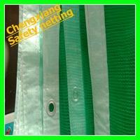 Green HDPE Construction safety net