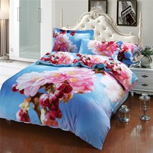 Famous Brand Bedding Set 3D Luxury Style Cotton Bedding Set