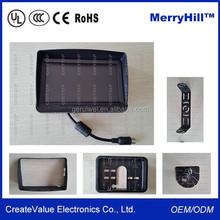 "Dashboard GPS Function 7"" Inch Car LCD Monitor With Sun Shade"