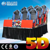 High quality real feeling hydraulic system 5d cinema