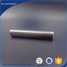 Factory direct sale Low Carbon Steel , Zinc Finished Threaded Rod