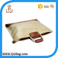 Good quality leather laptop brieccase bag
