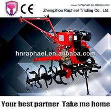 one person operated nice performance 9hp good quality tiller cultivator