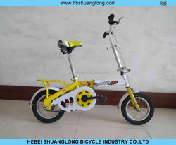 "16"" high quanlity girls bicycle/ folding bike for children (factory)"