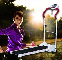 2014 Latest LCD Displayer Gym Fashionable motorized treadmill manual