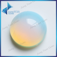 Wholesale Colored Clear Glass Beads round Cabochon