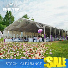 Beautiful wedding tent with air conditioning Namibia Haiti tent for sale
