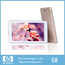 3G Tablet PC with 3G phone TV call function with WCDMA GSM 850/900/1800/1900 GPS Bluetooth