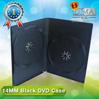 PP 14mm double black DVD case