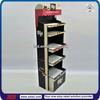TSD-C689 Supermarket floor chocolate corrugated display stand,snack cardboard display stand,biscuit display stand