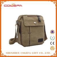 fashion designer travel shoulder Messenger bag custom canvas satchel backpack bag with zipper