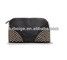 Custom Ladies newest design PU Handbags/ PU cosmetic case for women