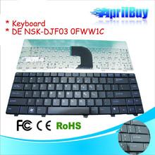 Internal Laptop Keyboard for dell NSK-DJF03 0FWW1C