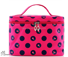 2015 fashion nylon cosmetic bag promotional with cherry pictures