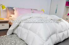 Hot sale 75% washed white goose down duvet/quilt/comforter
