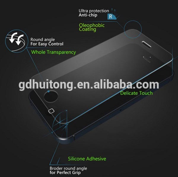 9H anti-scratch screen protector! Tempered glass screen protector_5