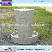 High quality cheap custom fiberglass concrete fountain garden fountain decoration