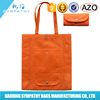 Custom printing shopping bag design/Non-woven material folding eco bags