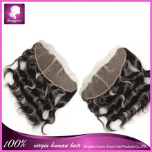 """13x4 malaysian #1b human hair 20"""" body wave full lace frontal closures three part hair frontal piece for black women sunny grace"""