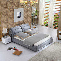 Good Quality Luxury Fabric Soft Bed for Bedroom