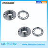 OEM and ODM blue anodized on stainless steel material cnc machining tv spare parts