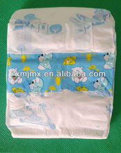 Fitting and ultra absorbent, comfortable and dry ,cloth like back sheet ,sleepy baby diaper