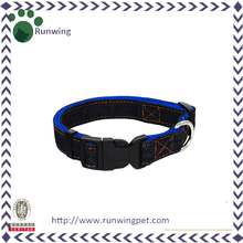 High Quality Jean Plain Nylon Dog Collar