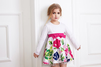 Alibaba wholesale children latest frocks designs party wear frocks for kids