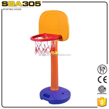 kid portable water injection basketball stand