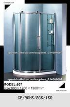 Una Slinding Door Offset Cuadrante ducha ducha Habitación C607