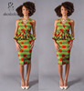 M40710 NEW African Nigeria new fashion The Soraya Top modern design wax print dress manufacturer