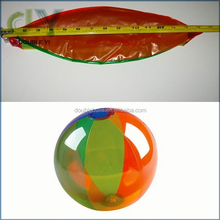 "Custom Inflatable Beach Ball - 1 pc Rainbow 6-panel, 18"" Custom Wholesale Beach Ball inflatable beach ball"