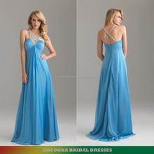Cheap chiffon evening dresses UK wholesale prom dress in China